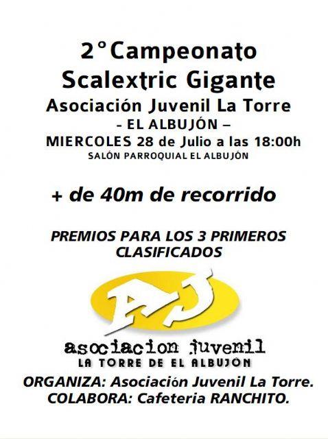 II Campeonato de Scalextric Gigante en El Albujón - 1, Foto 1