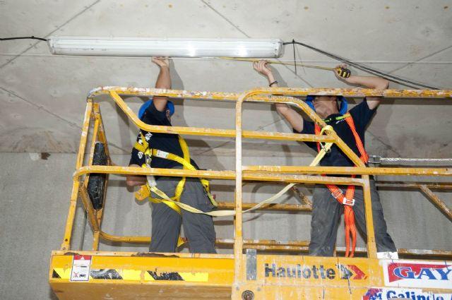 Avanzan los trabajos de cerramiento de la cubierta del Palacio de Deportes - 1, Foto 1