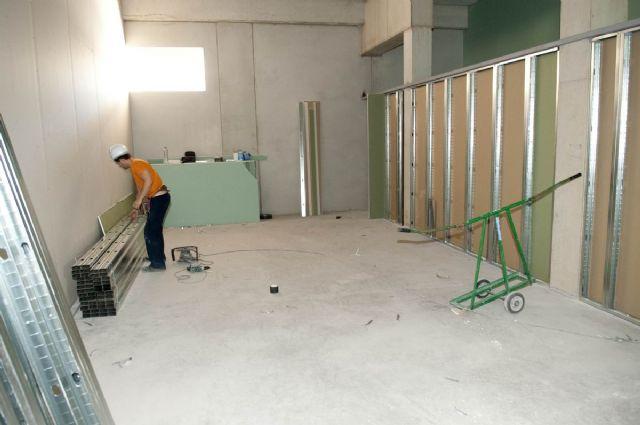 Avanzan los trabajos de cerramiento de la cubierta del Palacio de Deportes - 2, Foto 2