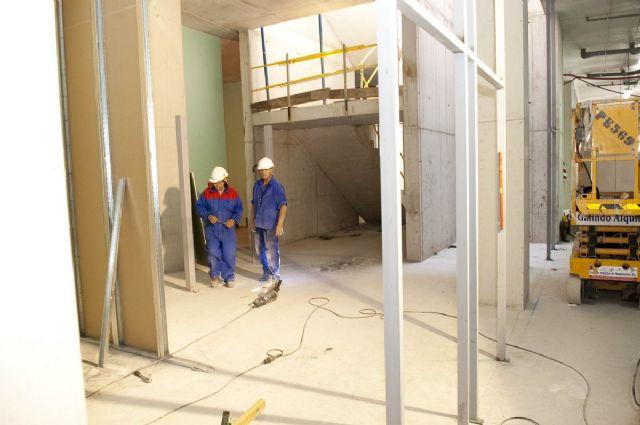 Avanzan los trabajos de cerramiento de la cubierta del Palacio de Deportes - 3, Foto 3