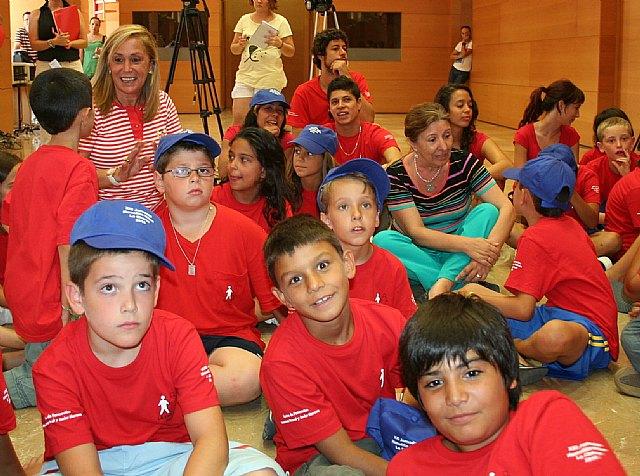 45 niños de toda España participan en las XXI Jornadas de Formación en Hemofilia que se celebran en la Región, Foto 3