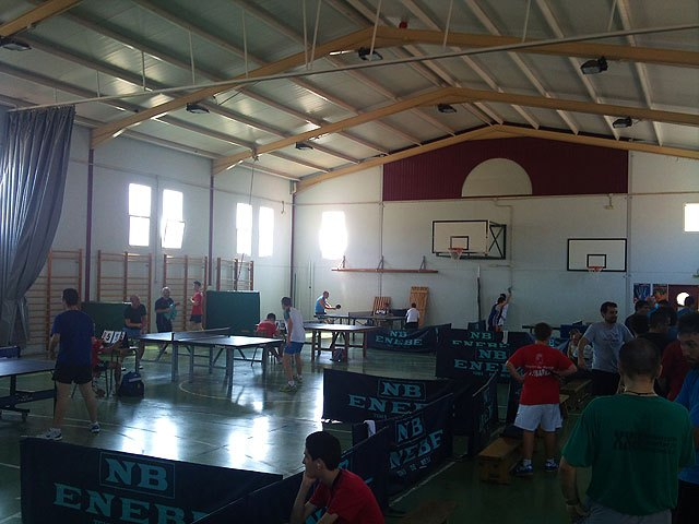II Torneo de tenis de mesa Fiestas de Santiago, Foto 1