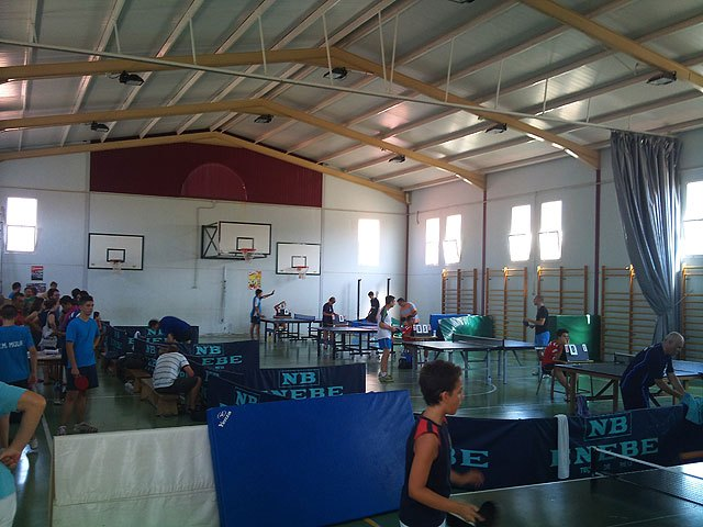 II Torneo de tenis de mesa Fiestas de Santiago, Foto 2