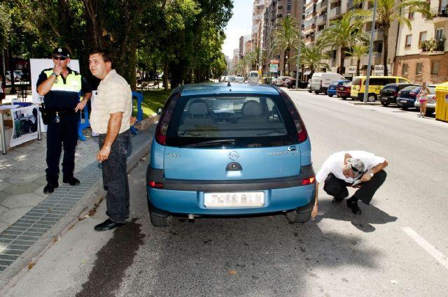 Policía Local e I.T.V. informan sobre cómo detectar un neumático en mal estado - 4, Foto 4