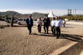 Se abre al tráfico la nueva rotonda de acceso al Valle de Escombras