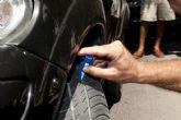 Policía Local e I.T.V. informan sobre cómo detectar un neumático en mal estado