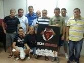 El el cartel de la campaña de abonados del Real Murcia viaja hasta Barqueros