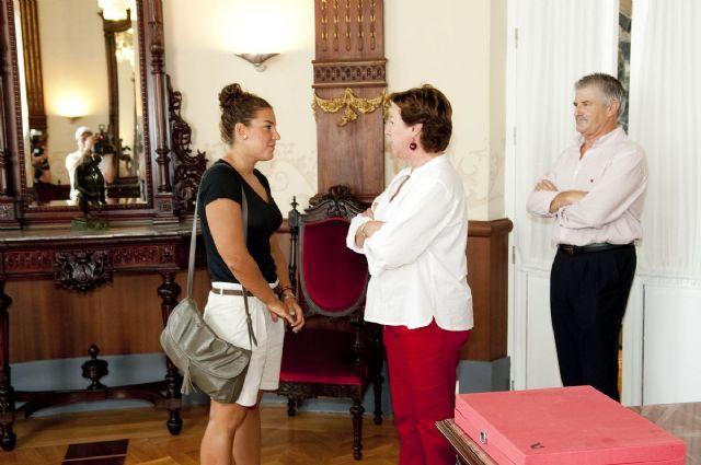 Margarita Domínguez agradece a la alcaldesa el apoyo del Ayuntamiento - 2, Foto 2