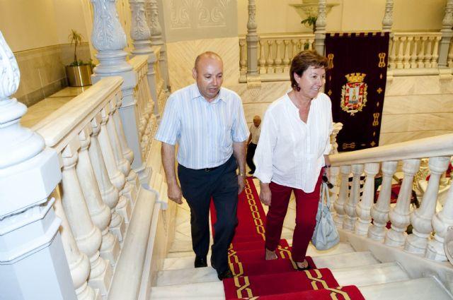 La alcaldesa reitera la colaboración del Ayuntamiento con el FC Cartagena a pesar de la crisis - 1, Foto 1