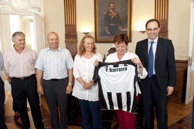 La alcaldesa reitera la colaboración del Ayuntamiento con el FC Cartagena a pesar de la crisis - 4, Foto 4