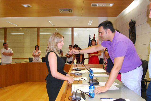 La nueva concejal del PP, Esther Esparza Martínez, tomó posesión de su nuevo cargo en la Corporación municipal - 1, Foto 1