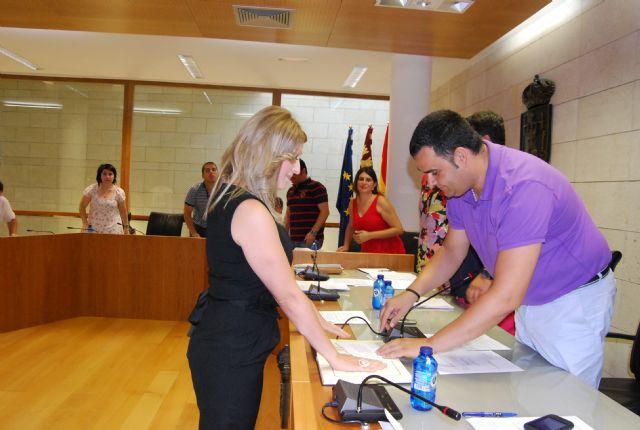 La nueva concejal del PP, Esther Esparza Martínez, tomó posesión de su nuevo cargo en la Corporación municipal - 2, Foto 2