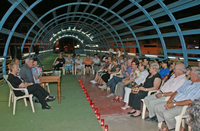 Poetas lumbrerenses protagonizaron un recital incluido en el programa 'Nogalte Cultural' que congregó a más de un centenar de ciudadanos - 1, Foto 1