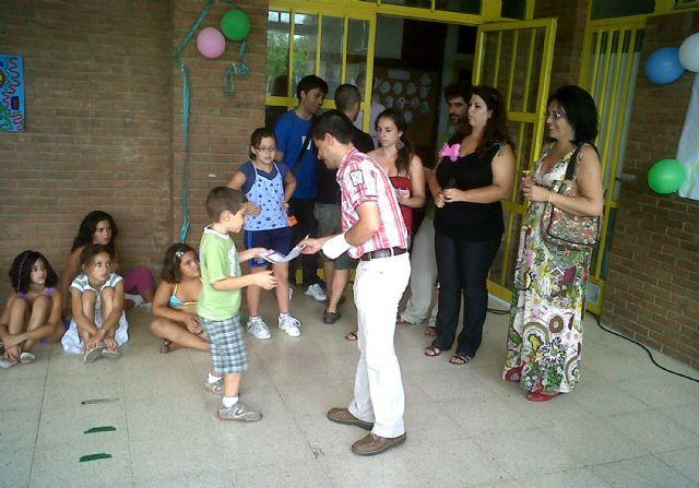 La Escuela de Verano de Lorquí finaliza sus clases por todo lo alto - 1, Foto 1