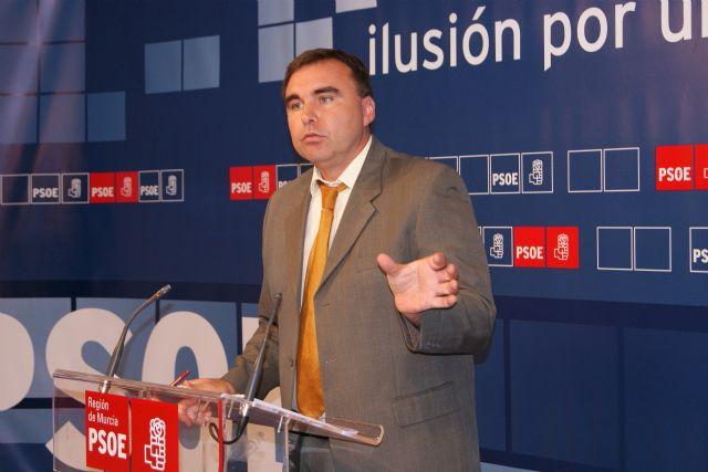 García: La bajada del paro es una buena noticia, pese a los recortes en empleo de Valcárcel - 1, Foto 1