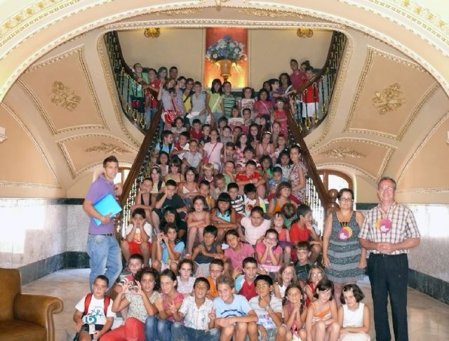 Con un pleno infantil se han clausurado las ludotecas de verano 2010 en las que han participado 280 niños y niñas - 2, Foto 2