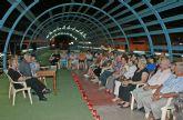 Poetas lumbrerenses protagonizaron un recital incluido en el programa 'Nogalte Cultural' que congregó a más de un centenar de ciudadanos
