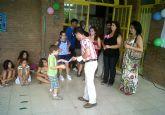 La 'Escuela de Verano' de Lorquí finaliza sus clases por todo lo alto