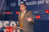 García: 'La bajada del paro es una buena noticia, pese a los recortes en empleo de Valcárcel'
