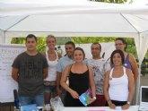 La feria local de participación juvenil de  Blanca celebra su segunda edición