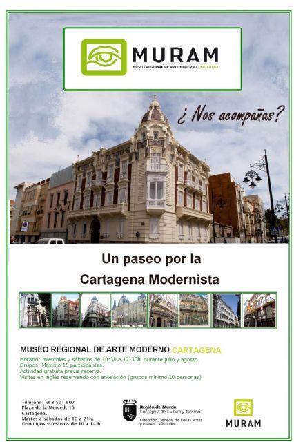 El MURAM ofrece este verano talleres familiares y rutas modernistas - 1, Foto 1