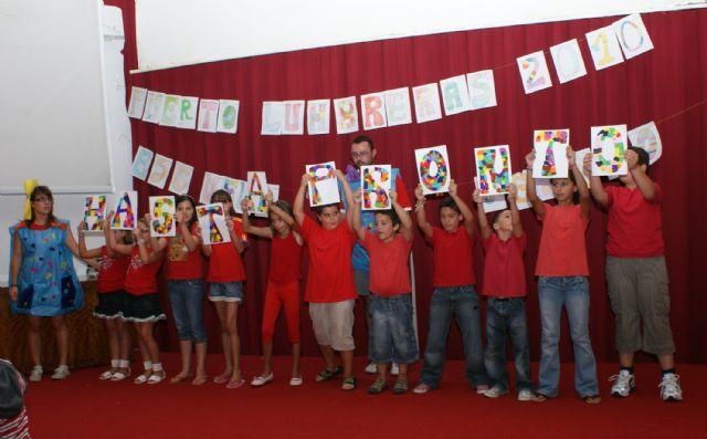 Puerto Lumbreras clausura su Escuela de Verano que ha ofrecido refuerzo educativo a 50 niños durante todo el mes de julio - 2, Foto 2