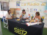 El programa 'La radio al sol' de la Cadena Ser entrevista al Coordinador de Socorros y Emergencias de Cruz Roja de Águilas, Miguel Ángel Molina
