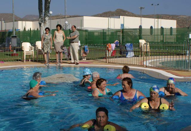 Más de 6.000 bañistas disfrutaron durante el mes de julio de las piscinas municipales de Puerto Lumbreras - 1, Foto 1