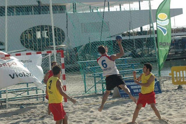 Un equipo de Roldán se proclama subcampeón de España en Balonmano Playa - 1, Foto 1