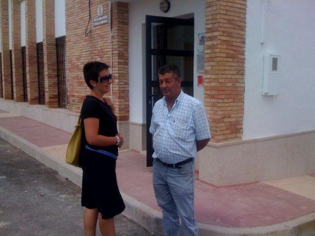 La concejal de Planificación y Desarrollo Sostenible visita el estado de las obras del nuevo Centro Social de la pedanía de el Raiguero Alto, Foto 1