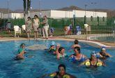 Más de 6.000 bañistas disfrutaron durante el mes de julio de las piscinas municipales de Puerto Lumbreras