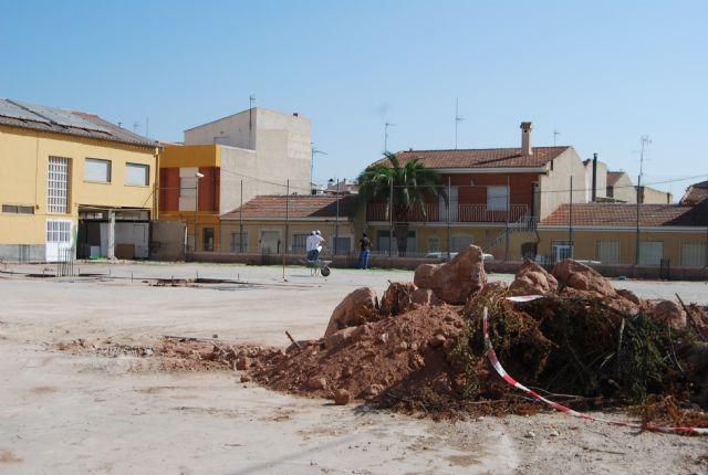 Comienzan las obras de construcción de la Escuela municipal de Padres y la cubrición de la pista polideportiva del C.P. Santa Eulalia, Foto 2