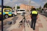 La concejalía de Seguridad elimina 117 resaltos, que no se ajustan a la normativa, en las vías de todo el municipio