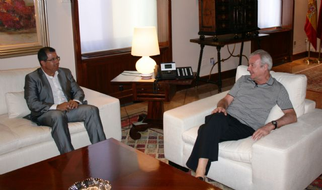 Blaya se entrevista con el presidente Valcárcel, Foto 1
