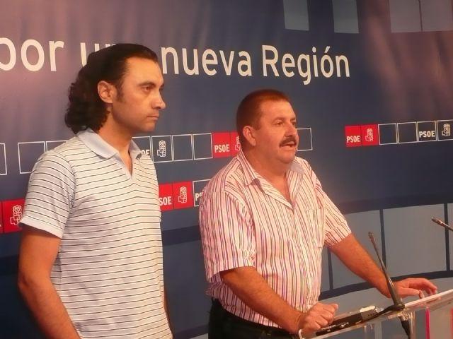 El PSOE de Totana reclama a Valcárcel que tome medidas urgentes con Martínez Andreo porque la situación es insostenible, Foto 1