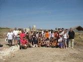 24 jóvenes de España, Polonia, Francia, Turquía y Taiwán participan en el Campo de Trabajo internacional de Mula