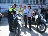 El parque móvil de la Policía Local se amplía con dos nuevas motos