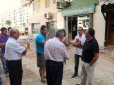 El Alcalde de Molina de Segura visita tres obras correspondientes al Fondo Estatal para el Empleo y la Sostenibilidad Local