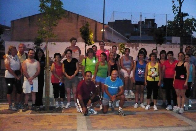 Alrededor de unas 80 personas participa cada miércoles en las caminatas nocturnas, Foto 1