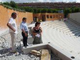 El Ayuntamiento de Molina de Segura invierte 105.299,31 euros en la remodelación del Auditorio Municipal