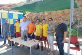 El alcalde comprueba los equipamientos y medidas de seguridad en las playas de Portmán