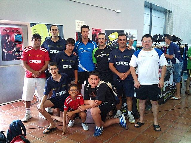 Torneo abierto tenis de mesa San Roque. Huetor Vega (Granada), Foto 1