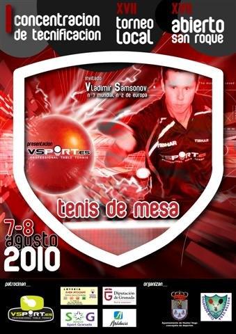 Torneo abierto tenis de mesa San Roque. Huetor Vega (Granada), Foto 4