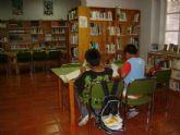 La sala de estudio de la biblioteca municipal mantiene su horario para los ex�menes de septiembre