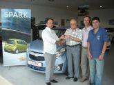 Manuel Caamaño gana un coche por comprar en las plazas de abastos municipales