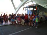 Medio centenar de personas asiste al viaje a la Ciudad de las Artes y las Ciencias de Valencia, enmarcado en el programa Verano Joven 2010