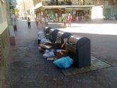 El PSOE denuncia la 'penosa situación de limpieza en todo el municipio'