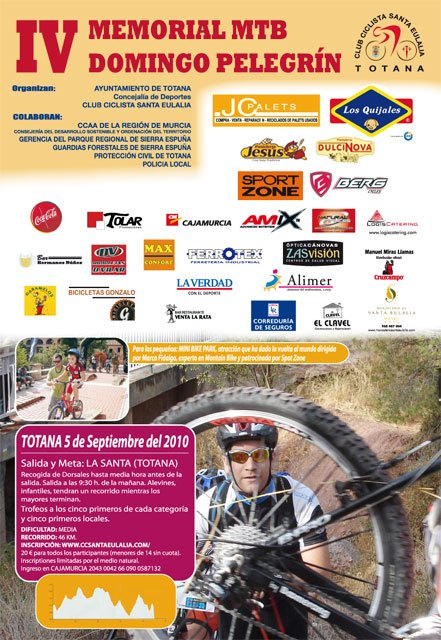 La IV Marcha en Mountain Bike Memorial Domingo Pelegrín se celebrará el domingo 5 de septiembre - 3, Foto 3