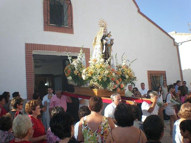 La pedanía lumbrerense de Góñar celebra sus fiestas patronales en honor a la Virgen del Carmen - 1, Foto 1