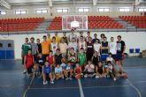 Puerto   Lumbreras  acoge a 50 jóvenes  del 'I Campus de Baloncesto Molina Basket' destinado a potenciar este deporte